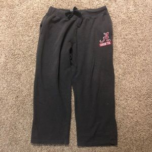 "Crimson Tide Wide-Leg Sweat Pants Large (30"" long)"